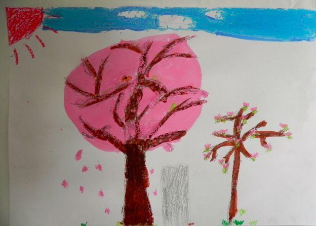 2014年桜満開の写生会_d0076558_16512095.jpg