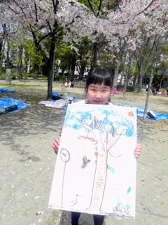 2014年桜満開の写生会_d0076558_16514829.jpg