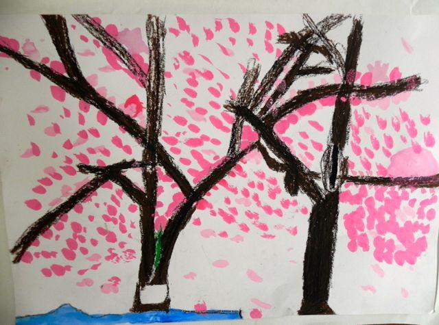 2014年桜満開の写生会_d0076558_16522969.jpg