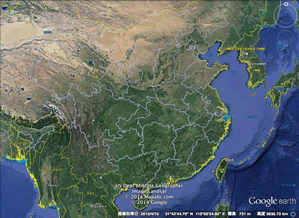 メルケル首相、1735年中国の古地図を習近平に送る!:昔の支那は小さかったわよ!_e0171614_15215622.jpg