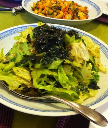 料理教室・・・韓国料理「参鶏湯(サムゲタン)など♪」_f0141419_14282083.jpg