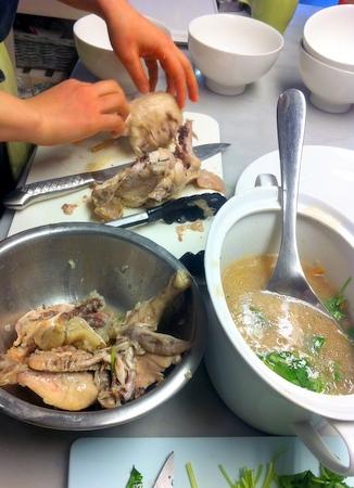 料理教室・・・韓国料理「参鶏湯(サムゲタン)など♪」_f0141419_14284154.jpg