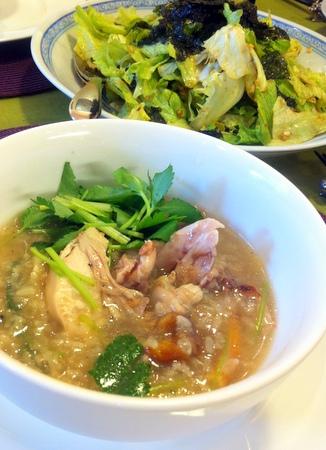 料理教室・・・韓国料理「参鶏湯(サムゲタン)など♪」_f0141419_14285071.jpg