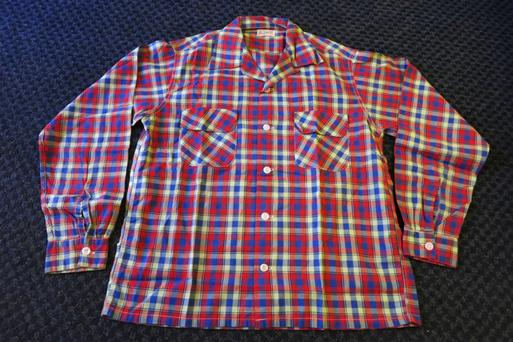 アメリカ仕入れ情報#5  50\'S  コットン オープンカラーシャツ! _c0144020_10353653.jpg