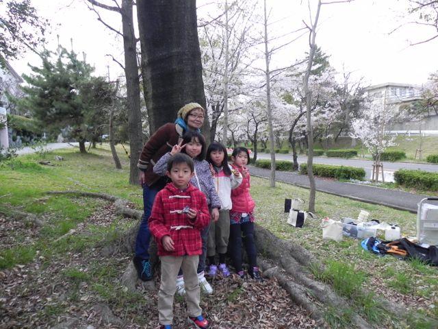 2014豊中花見ロードで写生会_d0076558_21575540.jpg