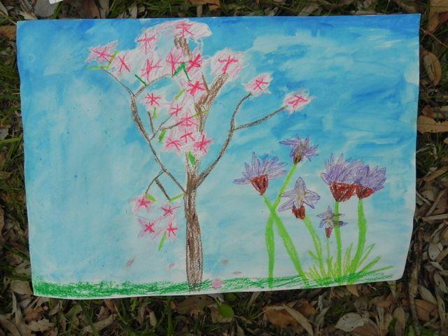 2014豊中花見ロードで写生会_d0076558_22013130.jpg