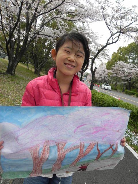 2014豊中花見ロードで写生会_d0076558_22030212.jpg