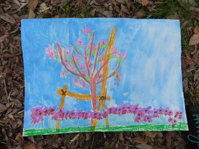 2014豊中花見ロードで写生会_d0076558_22043772.jpg