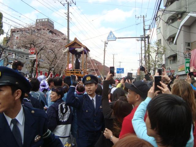 関東三大奇祭「かなまら祭り」へ行く。_f0232060_1142010.jpg