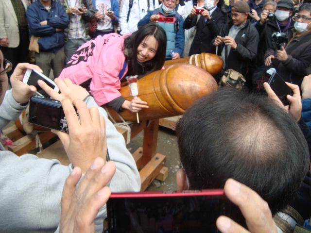 関東三大奇祭「かなまら祭り」へ行く。_f0232060_143456.jpg