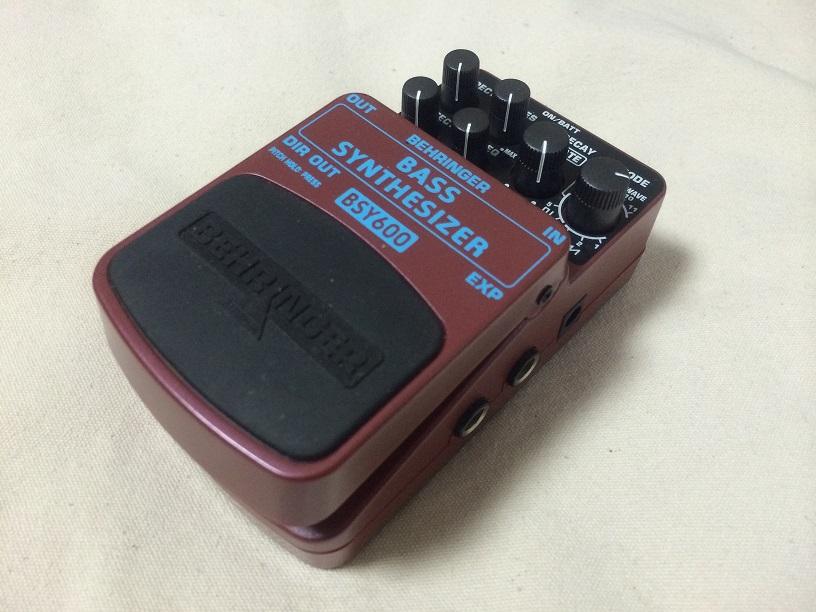 "Behringer""BSY600 Bass Synthesizer""_e0052576_00590834.jpg"