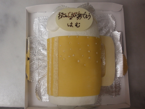 お祝い日の特別なケーキ!!_d0079577_15573276.jpg
