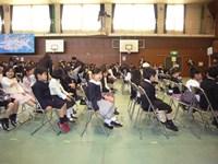 新1年生は90名、3クラス…北豊島小学校の入学式_c0133422_16122336.jpg