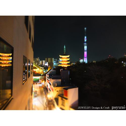 夜桜散歩_e0131432_15434135.jpg