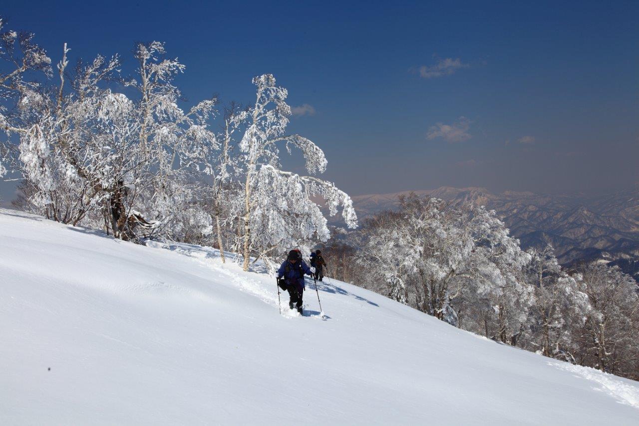 4月7日、札幌岳-同行者からの写真-_f0138096_9465299.jpg