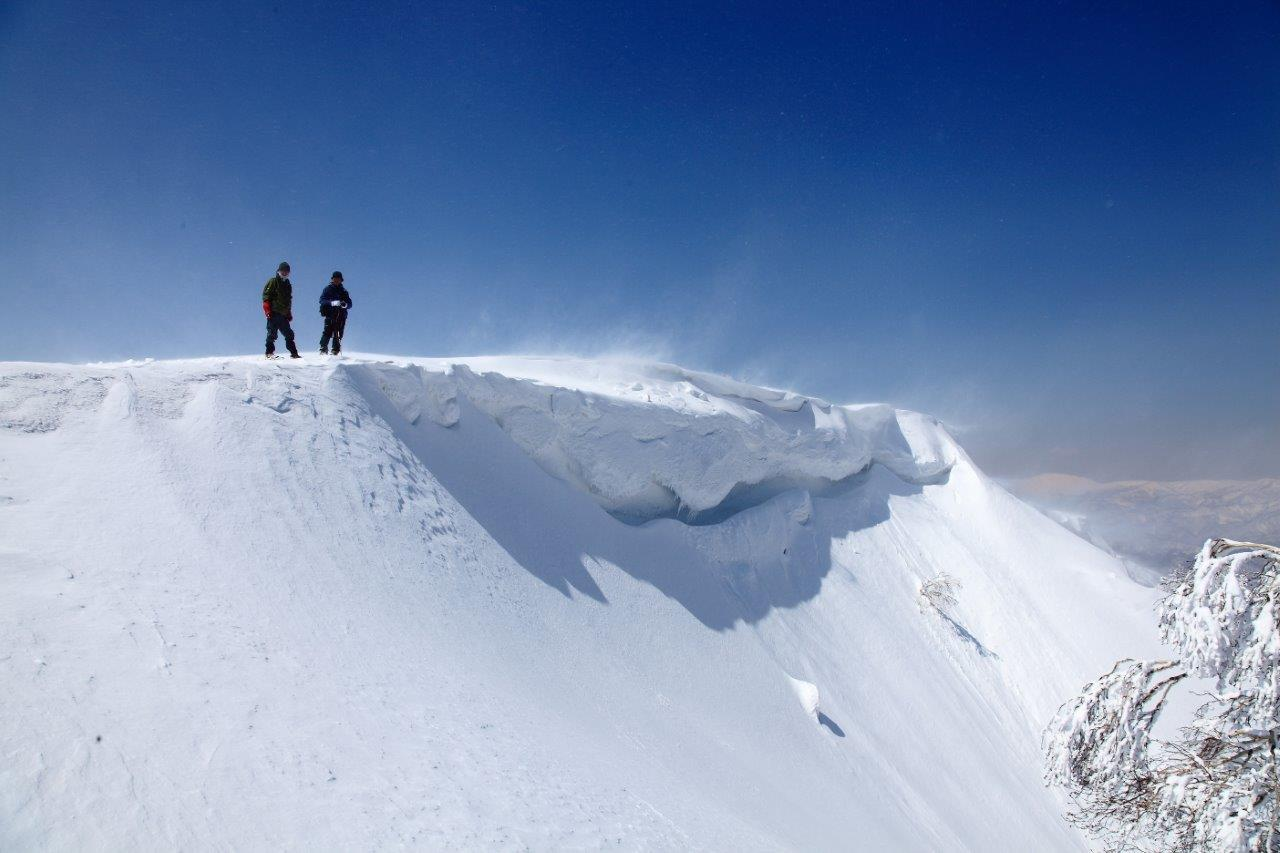 4月7日、札幌岳-同行者からの写真-_f0138096_9472069.jpg