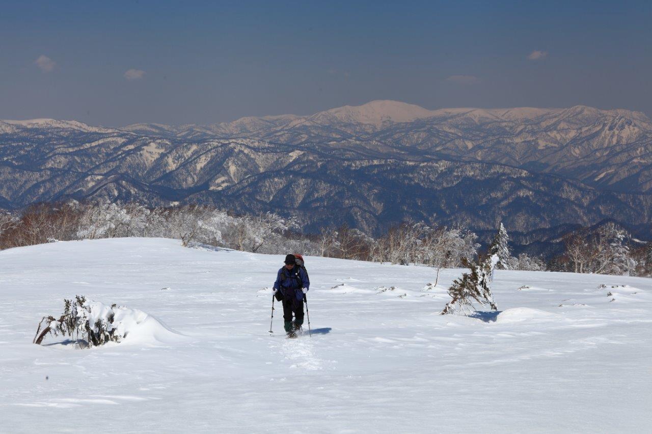 4月7日、札幌岳-同行者からの写真-_f0138096_947783.jpg