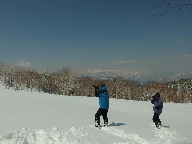 4月7日、札幌岳-同行者からの写真-_f0138096_9482796.jpg