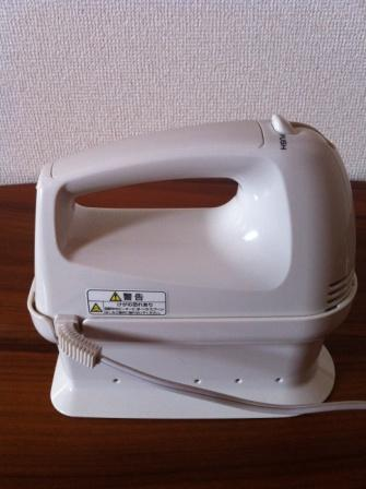 無印良品 ハンドミキサー MJ-HM1A 取説 元箱付 未使用品