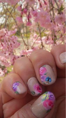 春ネイル_c0223630_21451543.jpg