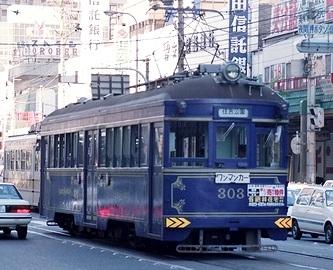 阪堺電気軌道 174、303_e0030537_23373534.jpg