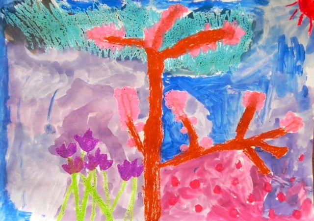 2014豊中花見ロードで写生会_d0076558_11212863.jpg
