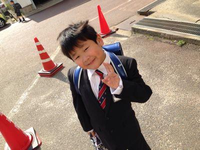 小学校入学(´▽`)_b0213187_123216.jpg