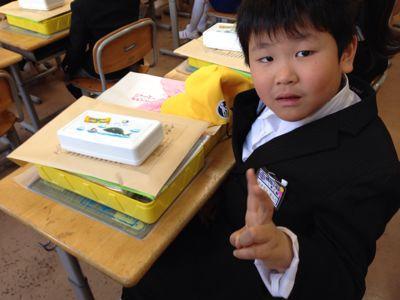 小学校入学(´▽`)_b0213187_12323100.jpg