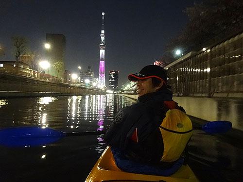 東京水路ナイトパドリング_c0137404_15284631.jpg