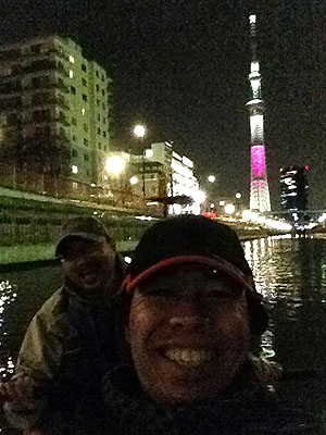 東京水路ナイトパドリング_c0137404_1528565.jpg