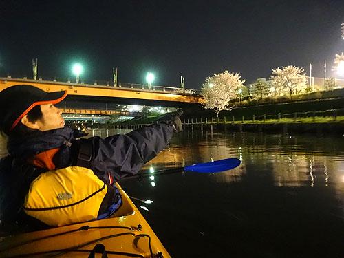 東京水路ナイトパドリング_c0137404_15292762.jpg