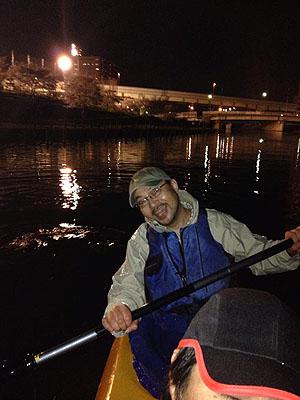 東京水路ナイトパドリング_c0137404_15293755.jpg