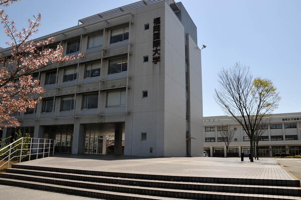 福女短・福岡国際大の桜 2014_a0042310_1147224.jpg