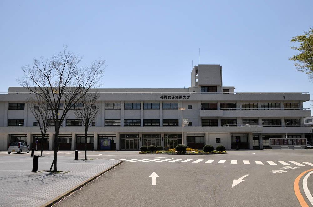 福女短・福岡国際大の桜 2014_a0042310_11473332.jpg