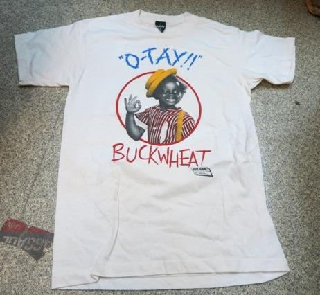 アメリカ仕入れ情報#16   VERY CUTE !! BUCKWEAT T-shirts!!_c0144020_10554217.jpg