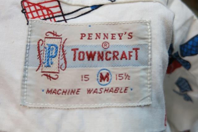 アメリカ仕入れ情報#17   60\'S PENNY\'S TOWN CRAFT BBQ shirts!!_c0144020_11154384.jpg