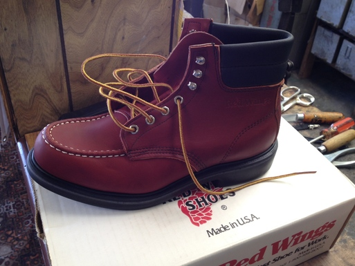 アメリカ仕入れ情報# 13 デッドストック つづき RED WING  BOOTS 204 8ハーフD_c0144020_11541318.jpg