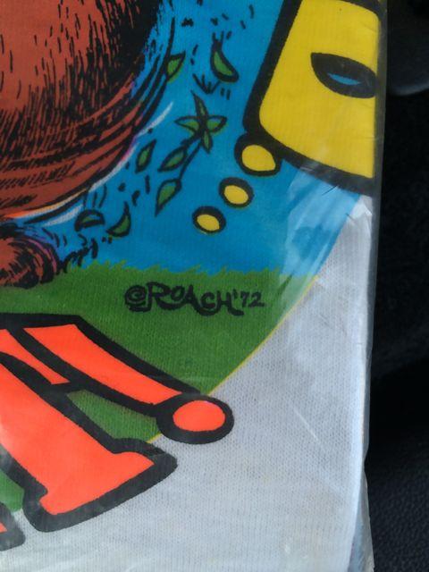 アメリカ仕入れ情報#14  デッドストックつづき 70'S  ローチTシャツ!_c0144020_12492764.jpg