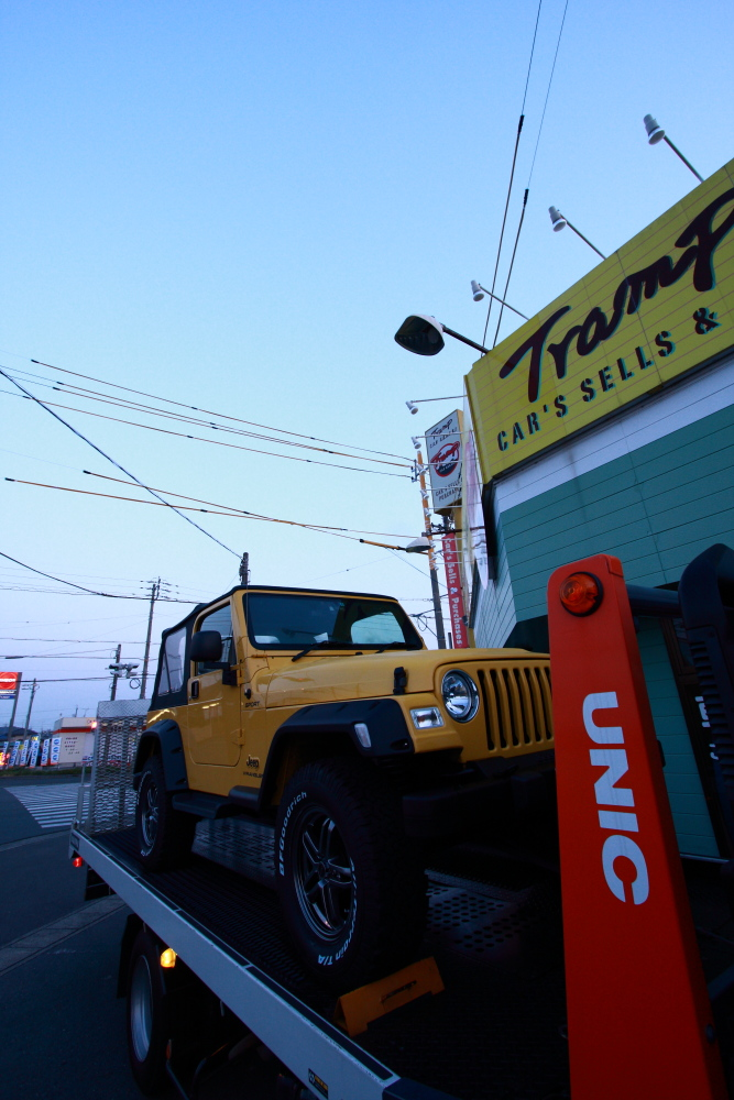 横浜納車完了いたしました_f0105425_1922597.jpg