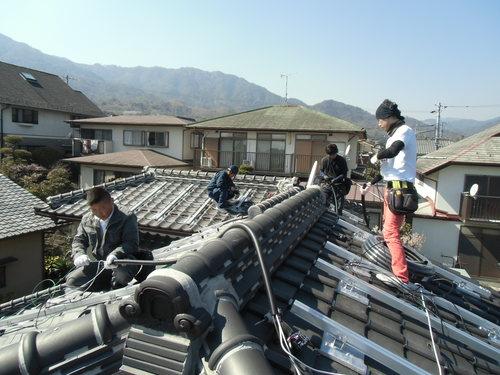 F様邸(佐伯区薬師が丘)太陽光発電システム工事_d0125228_8235789.jpg