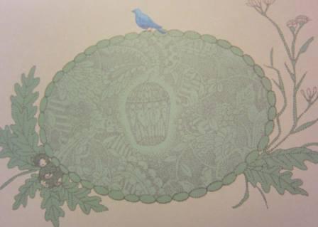 Loopmark「青い鳥レターセット」が完成いたしました。_f0228652_1791665.jpg