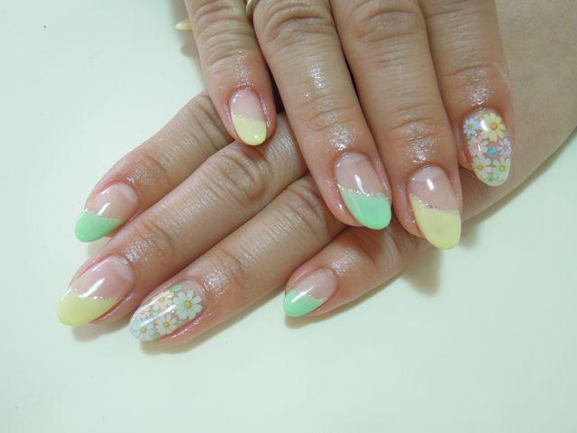 Pastel Nail_a0239065_12524135.jpg