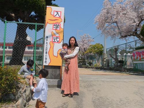 篠山と入学式と入園式_d0185565_0194632.jpg