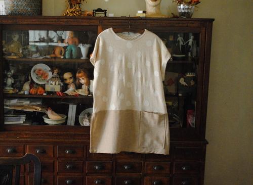 簡単洋裁、ハギレで作った服_d0101846_852407.jpg