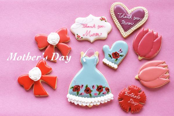 母の日アイシングクッキー_f0149855_1629417.jpg
