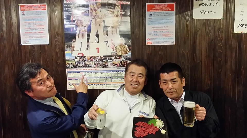 あっちゃんの店、居酒屋「万吉」で久し振りの木曜クラブ!_c0186691_1727191.jpg
