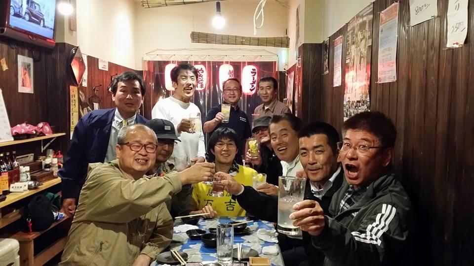 あっちゃんの店、居酒屋「万吉」で久し振りの木曜クラブ!_c0186691_17273426.jpg
