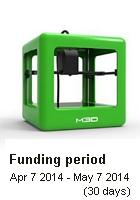 299ドルの3Dプリンター「The Micro」がキックスターターで資金集めに大成功中_b0007805_2318811.jpg