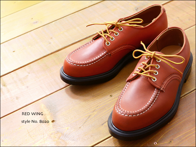 RED WING [レッドウィング] SUPER SOLE OXFORD ORO-RUSSET style No.8020 [8020]  MEN\'S_f0051306_2352186.jpg