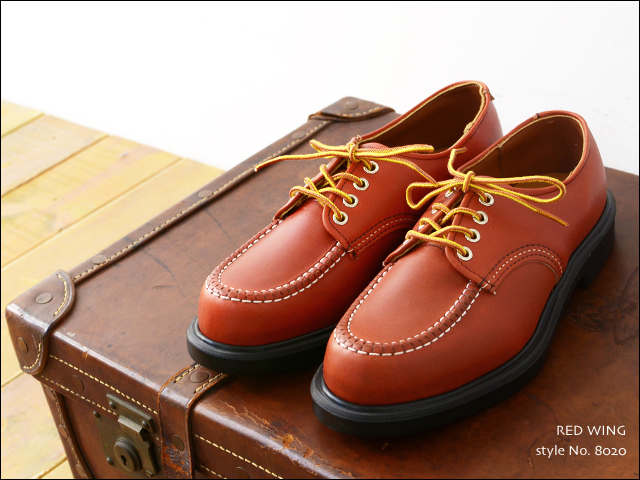 RED WING [レッドウィング] SUPER SOLE OXFORD ORO-RUSSET style No.8020 [8020]  MEN\'S_f0051306_235248.jpg